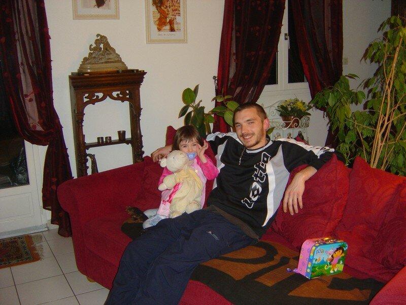 Nina et son Papa