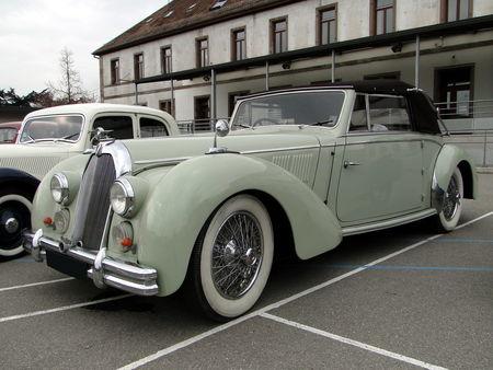 TALBOT Lago T26 Record Cabriolet 1948 1949 Bourse Echanges Autos Motos de Chatenois 2010 4
