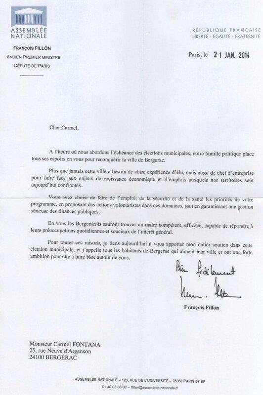 soutien fillon janvier 2014