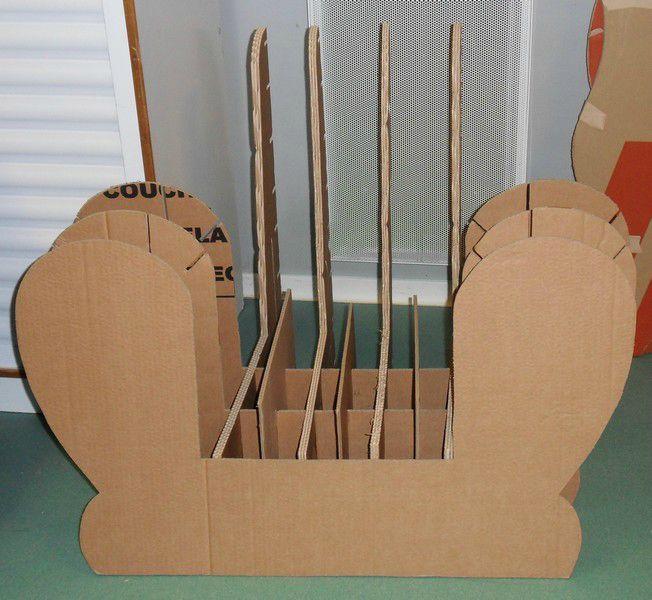 Atelier meuble en carton cholet exoticcreation - Patron meuble en carton gratuit ...
