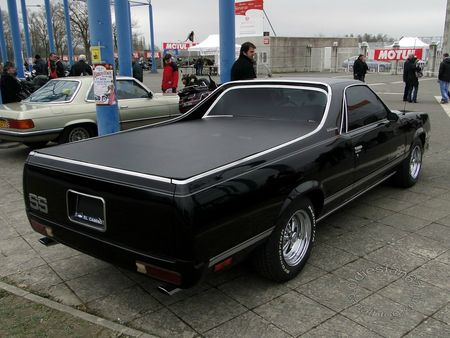 chevrolet el camino ss, 1984 1987, salon champenois reims 2013 4