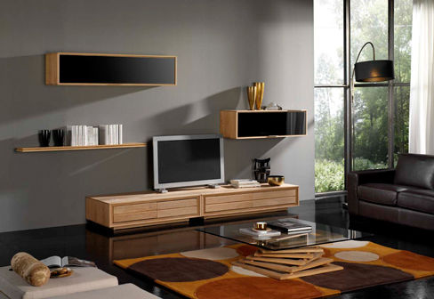 d coration salon meuble. Black Bedroom Furniture Sets. Home Design Ideas