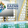 Mondiaux de natation 2015 à kazan en russie (mise à jour)