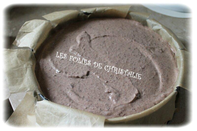 Cheesecake chocolat 7