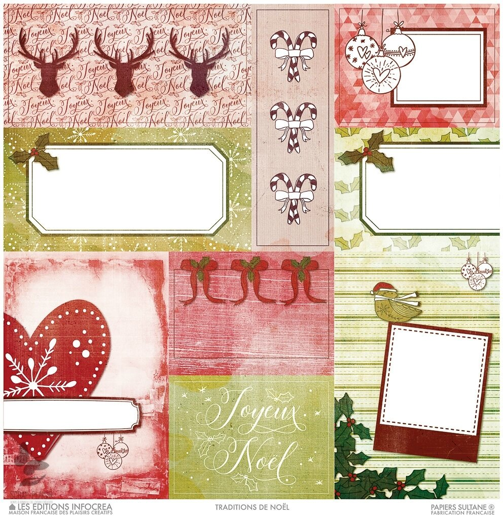 Cartes de voeux : Noël