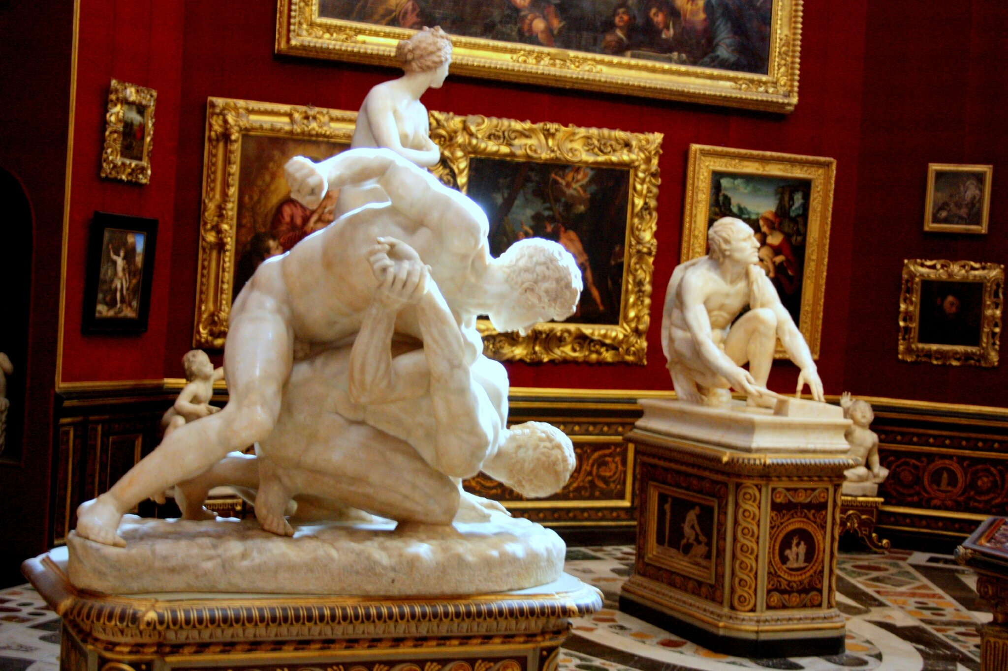 A la galerie des offices florence mrs sew and so - Musee des offices florence visite virtuelle ...