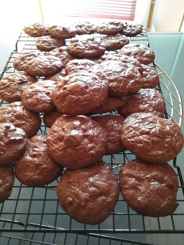 Cookies Brownies au chocolat 021