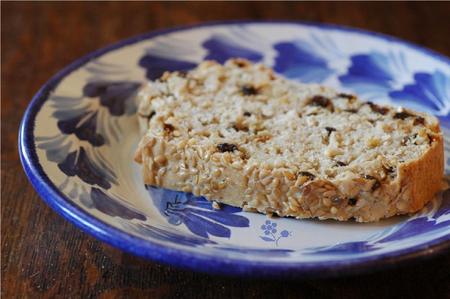 Lazy loaf flocons de riz, farine 5 cereales-3 graines & raisins de Corinthe_b