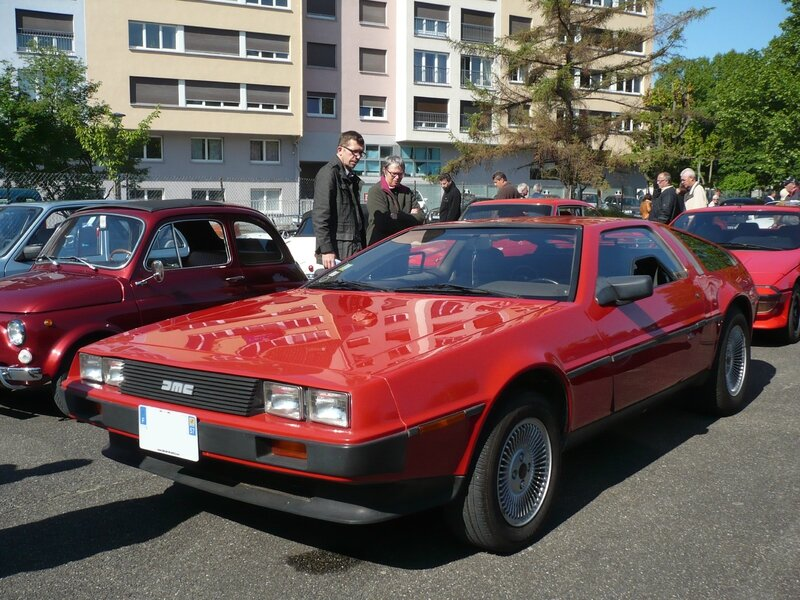 DELOREAN DMC-12 Strasbourg (1)