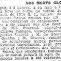 Petit nicois 22 janvier 1922