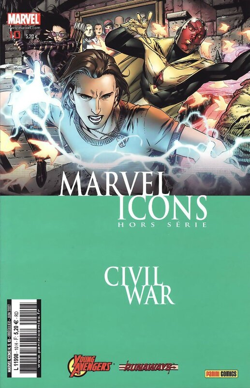 marvel icons hs 10 civil war