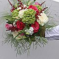 Fleurs pour mariage champêtre