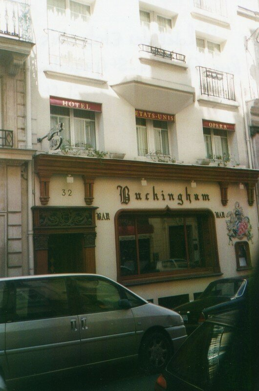 Hotel des Etats Unis Rue Gaillon où vécu Saint-Just en 1794