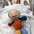 Crochet : sleeping buddies - doudou bébé amigurumi