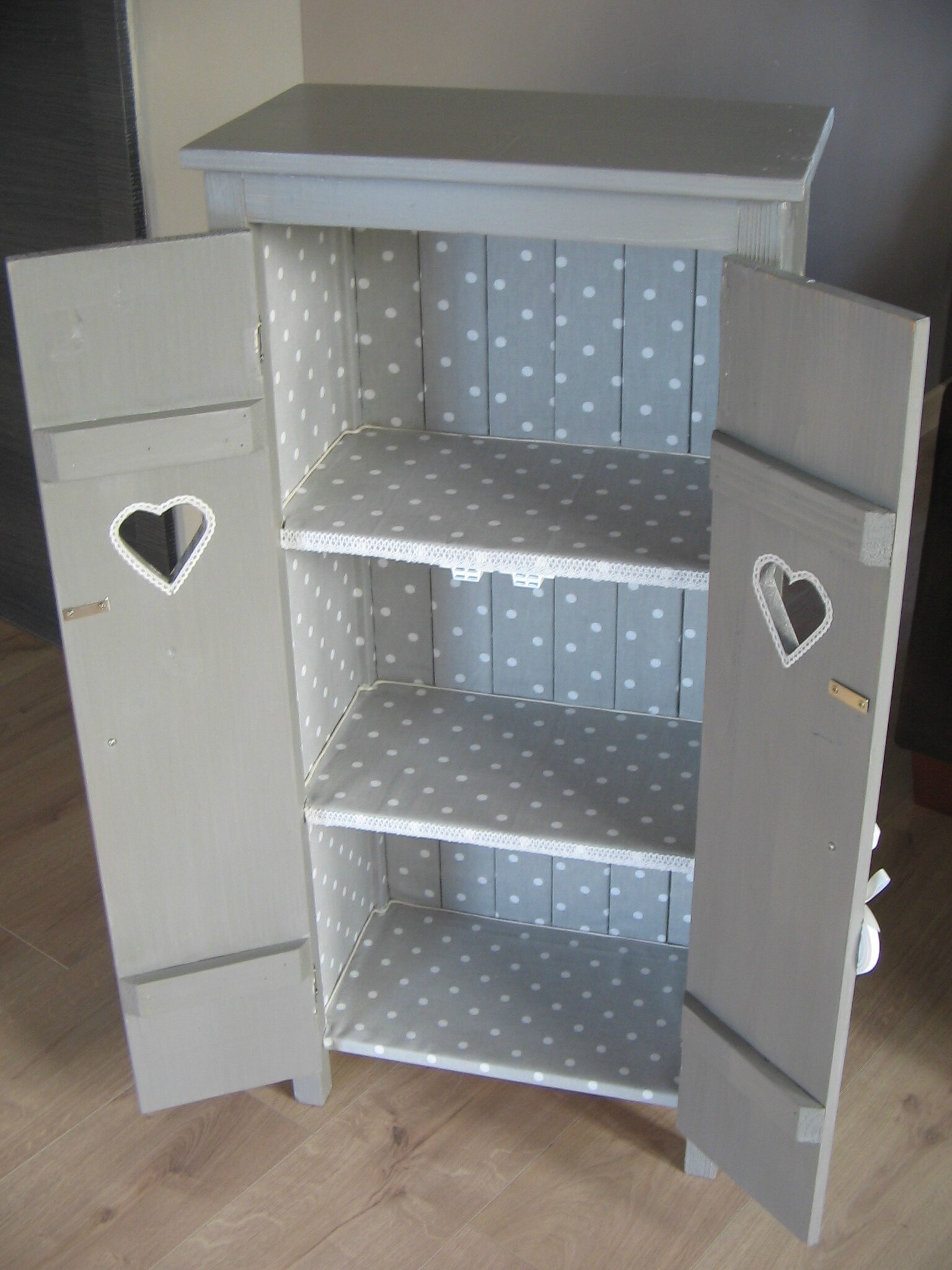 petite meuble biblioth que shabby relooking de. Black Bedroom Furniture Sets. Home Design Ideas