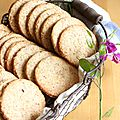 Biscuits noisettes