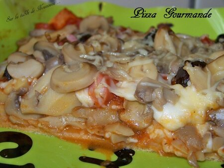 Pizza Gourmande 3