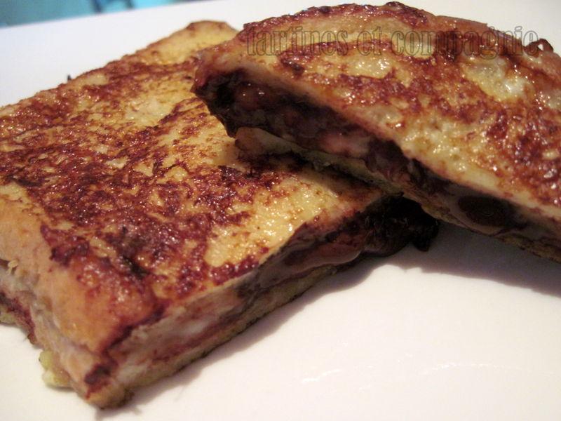 Croque Choco Banane Facon Pain Perdu Tartines Et Compagnie De