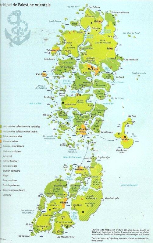 archipel palestinien
