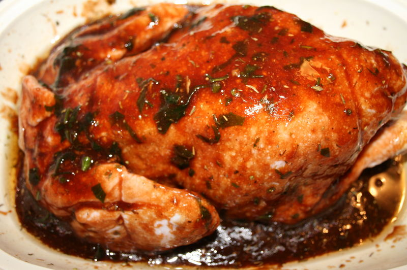 Poulet r ti marinade bbq sweet marrakech for Marinade poulet huile d olive