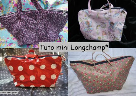 tuto mini longchamp