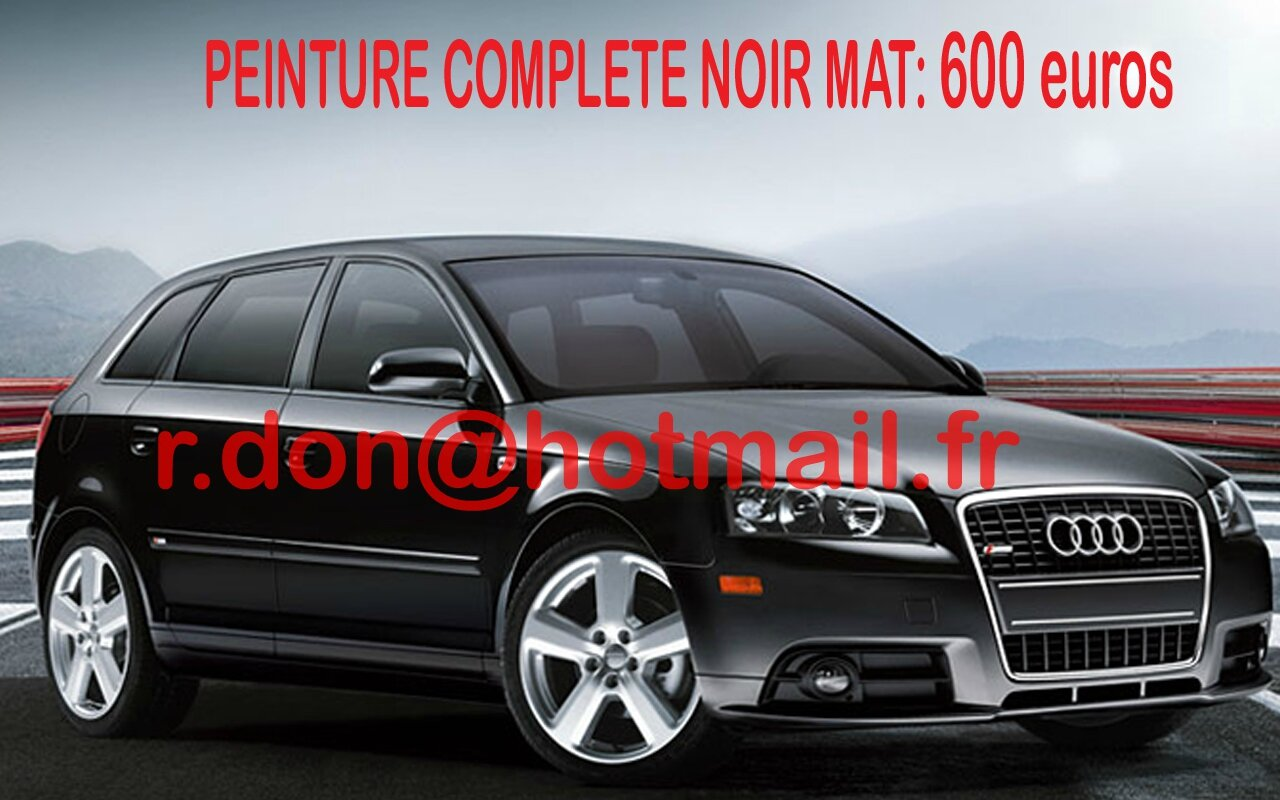 audi a3 audi a3 essai audi a3 covering audi a3 audi a3 noir mat covering noir mat et. Black Bedroom Furniture Sets. Home Design Ideas