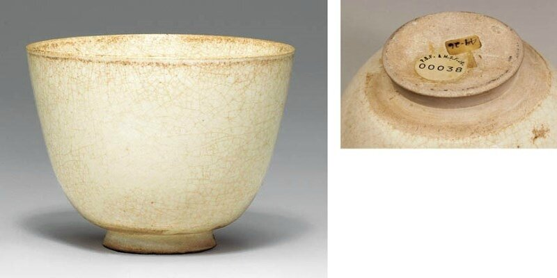 A Rare Large High-Fired Early White Ware Cup, Sui-early Tang dynasty, 6th-7th century