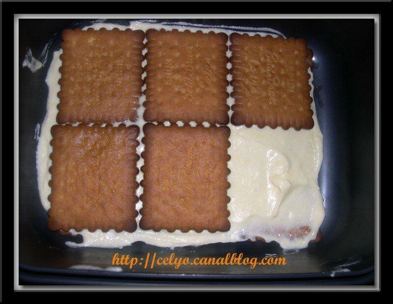 recette tiramisu chocolat et petit beurre