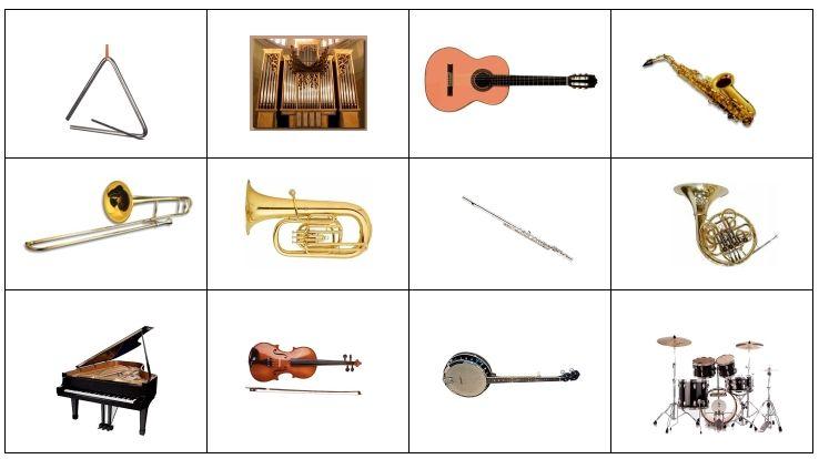 Célèbre Familles orchestrales - MUSICLIK TD17