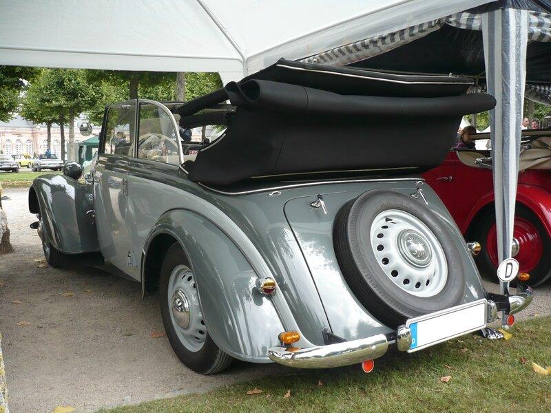 ADLER 2 Liter EV cabriolet 1939 Schwetzingen (2)
