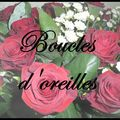 3*Boucles d'oreilles