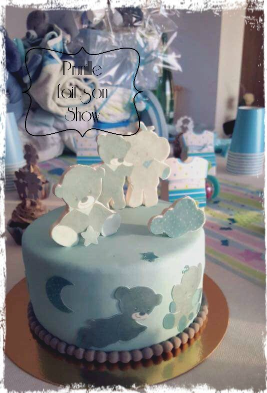baby shower cake boy prunillefee 1