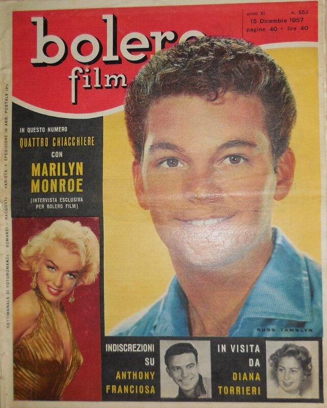 Bolero film (It) 1957