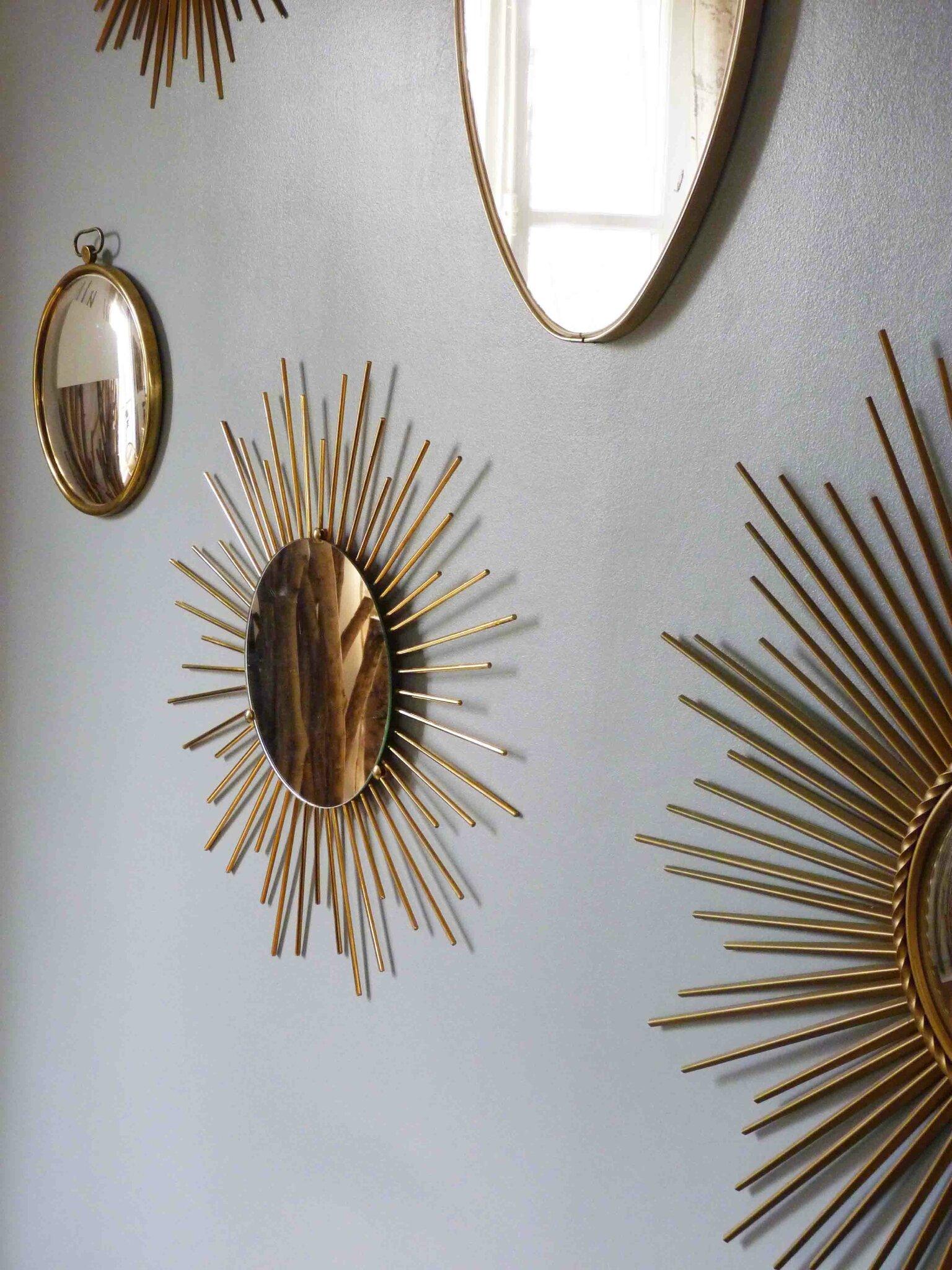 Charlotsometimes for Miroir soleil cuivre