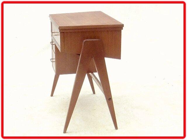 bureau - meuble de machine à coudre vintage