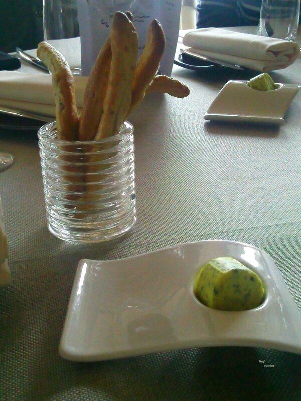 2013 10 11 - déjeuner au Bateau Ivre - Le Bourget du Lac (12) - beurre au curry