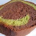 Cake chocolat-pistache