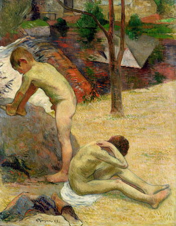 Breton_Boys_Bathing_1888_xx_Paul_Gauguin