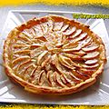 Tarte au pommes et huile d'olive