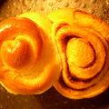 Kanelbullar ou cinnamon roll... de toute façon c'est presque la même chose, non ?