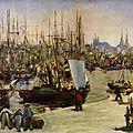 Manet, le port de Bordeaux