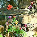 murette fleurie yurtao