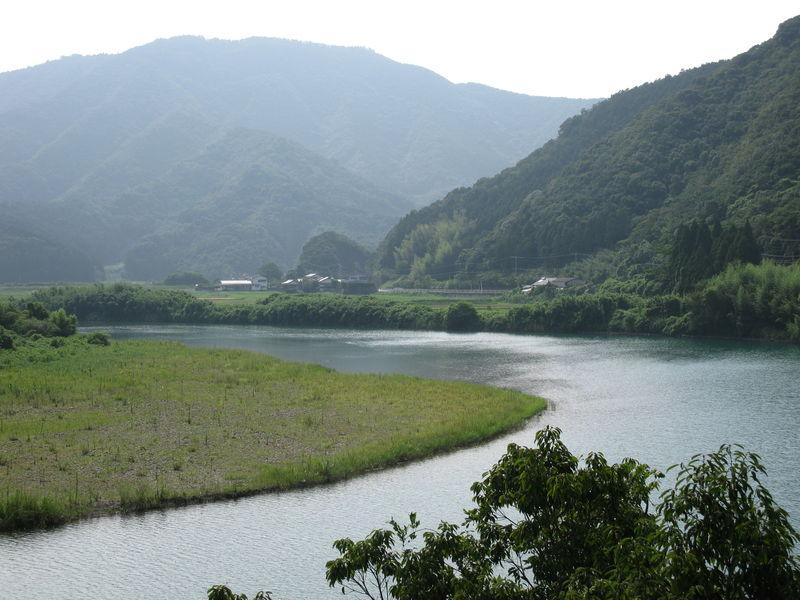 Kadogawa et ses belles montagnes