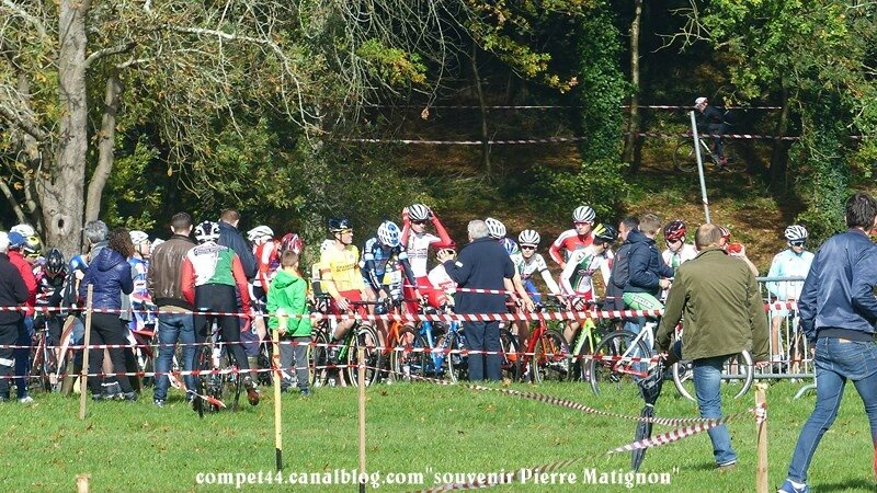 Cyclo-cross espoirs juniors Souvenir Pierre Matignon 21 10 2017