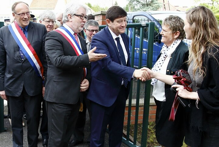 STADE CAMBRELING INAUGURATION 2016 présentation conductrices ADT