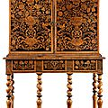 Cabinet, netherlands, 17th century