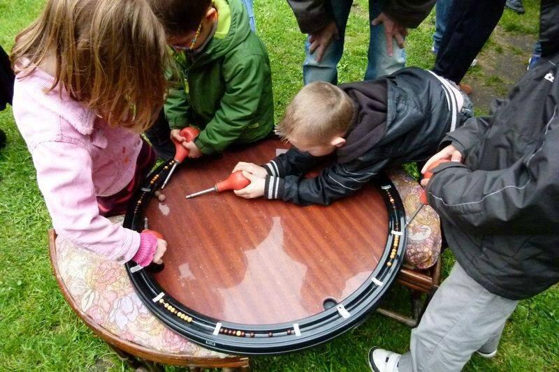 jeu billard nicolas avec enfants