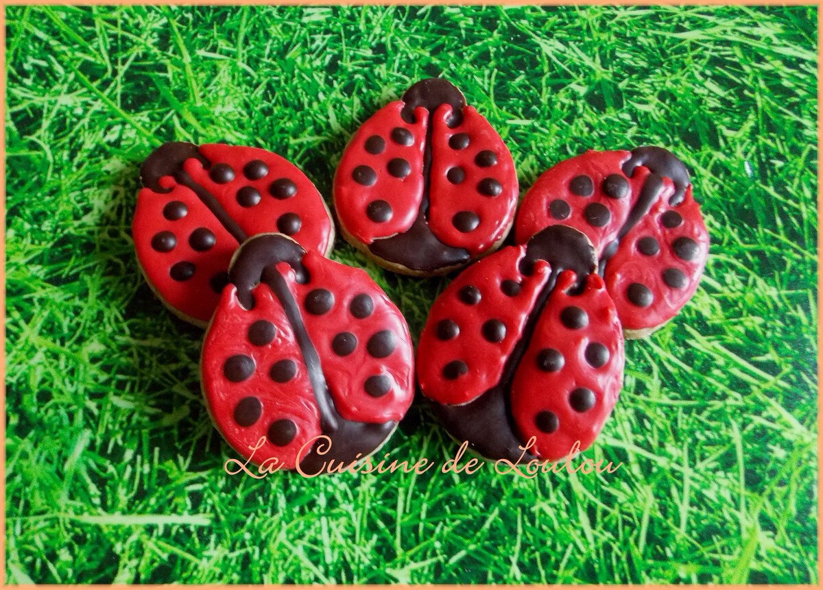 """Biscuits """"Coccinelles"""""""