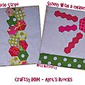 Craftsy BOM - April's Blocks