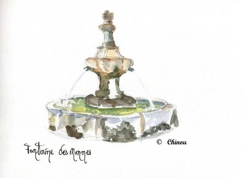 Lambesc fontaine des nonnes